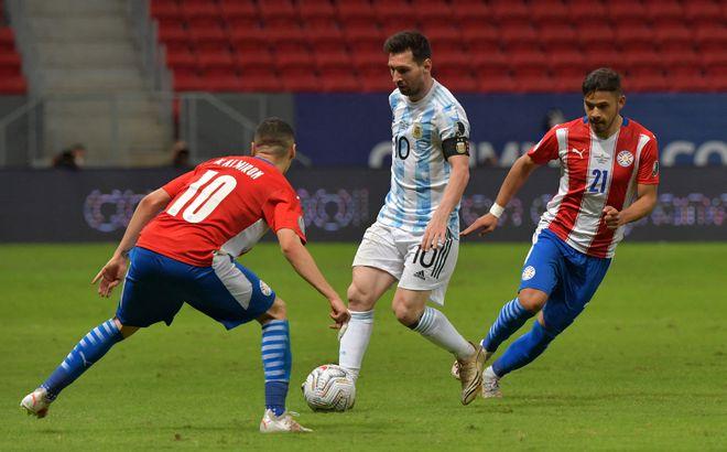 提前出线!美洲杯:阿根廷1-0巴拉圭 梅西策动戈麦斯单刀破门