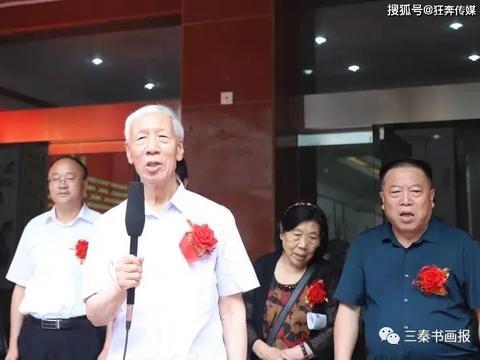 庆祝中国共产党成立100年陕西省老年书画学会书画精品展隆重开幕