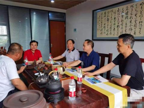 武汉市江汉区委统战部领导来我司走访调研