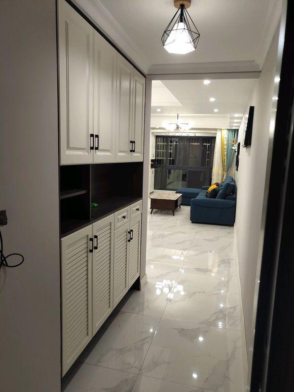 晒晒通风中的北欧新房,全屋定制花4万,最喜欢整面墙柜的电视墙