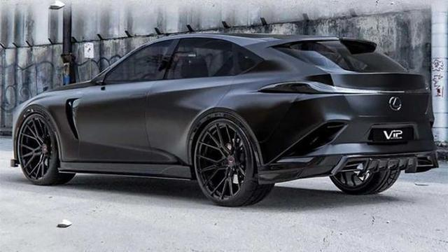 雷克萨斯新旗舰SUV--TX 搭载3.5L V6双涡轮发动机