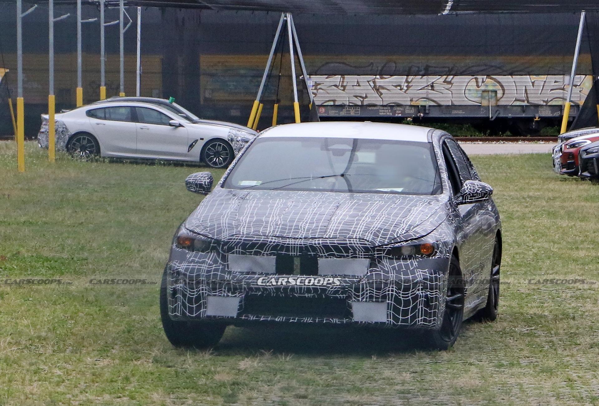 子弹说车丨G60或成内燃机绝唱,全新BMW 5系路试谍照
