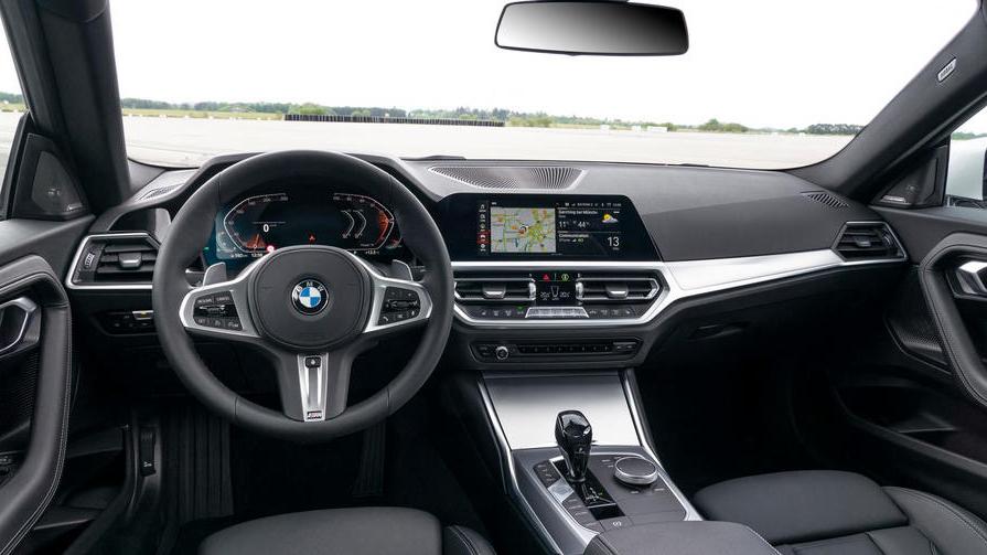 轴距增加51mm/3系同款内饰,解析全新宝马2系Coupe