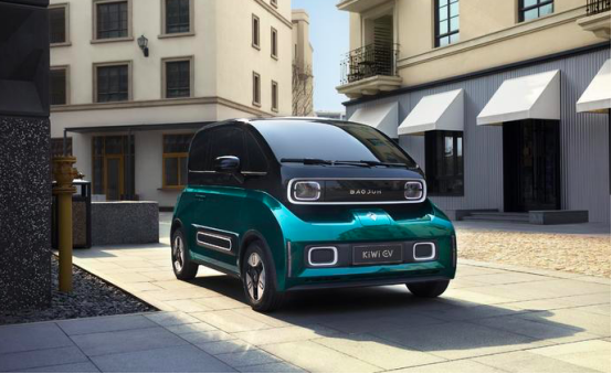 三季度上市,宝骏KiWi EV公布六款车身颜色