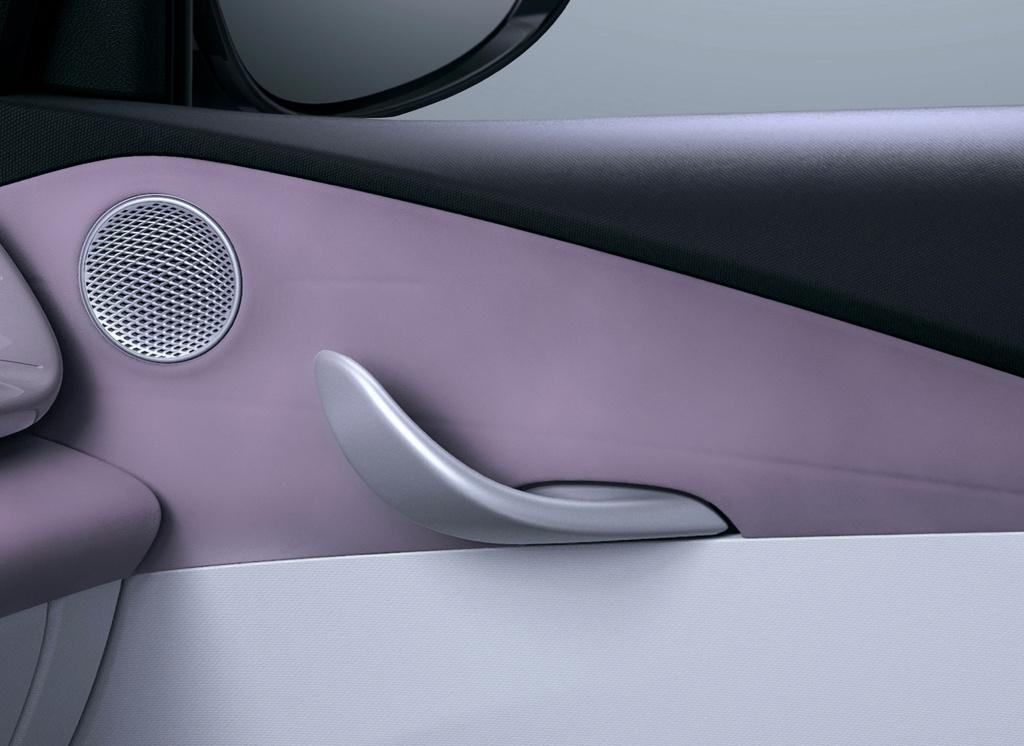 比亚迪海豚内饰图发布,融入仿生学设计,造型很精致,按键带汉字