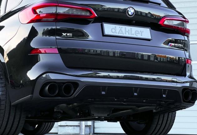 加速5秒!4.4T引擎+酷黑外观,实拍宝马X5运动版,新轮毂真霸气