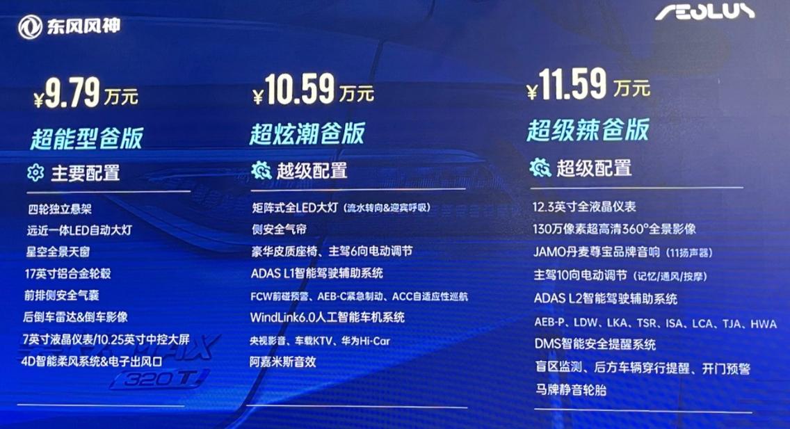 1.5T最大功率203匹,同级最宽的风神奕炫MAX预售9.79万起