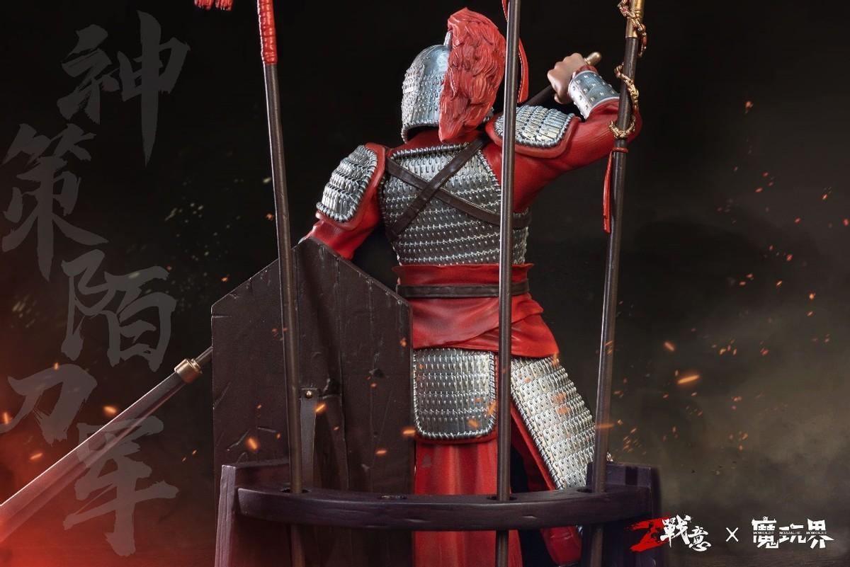 《战意》限量典藏雕像 戍戎百守卫&神策陌刀军正式预售