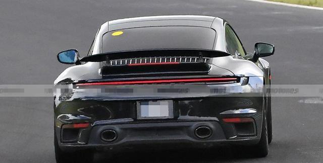疑似保时捷911混动版谍照首次曝光 或将搭插电混合动力系统