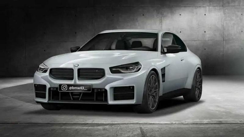 搭载3.0T直列六缸发动机 宝马M2最新渲染图曝光 有望明年亮相