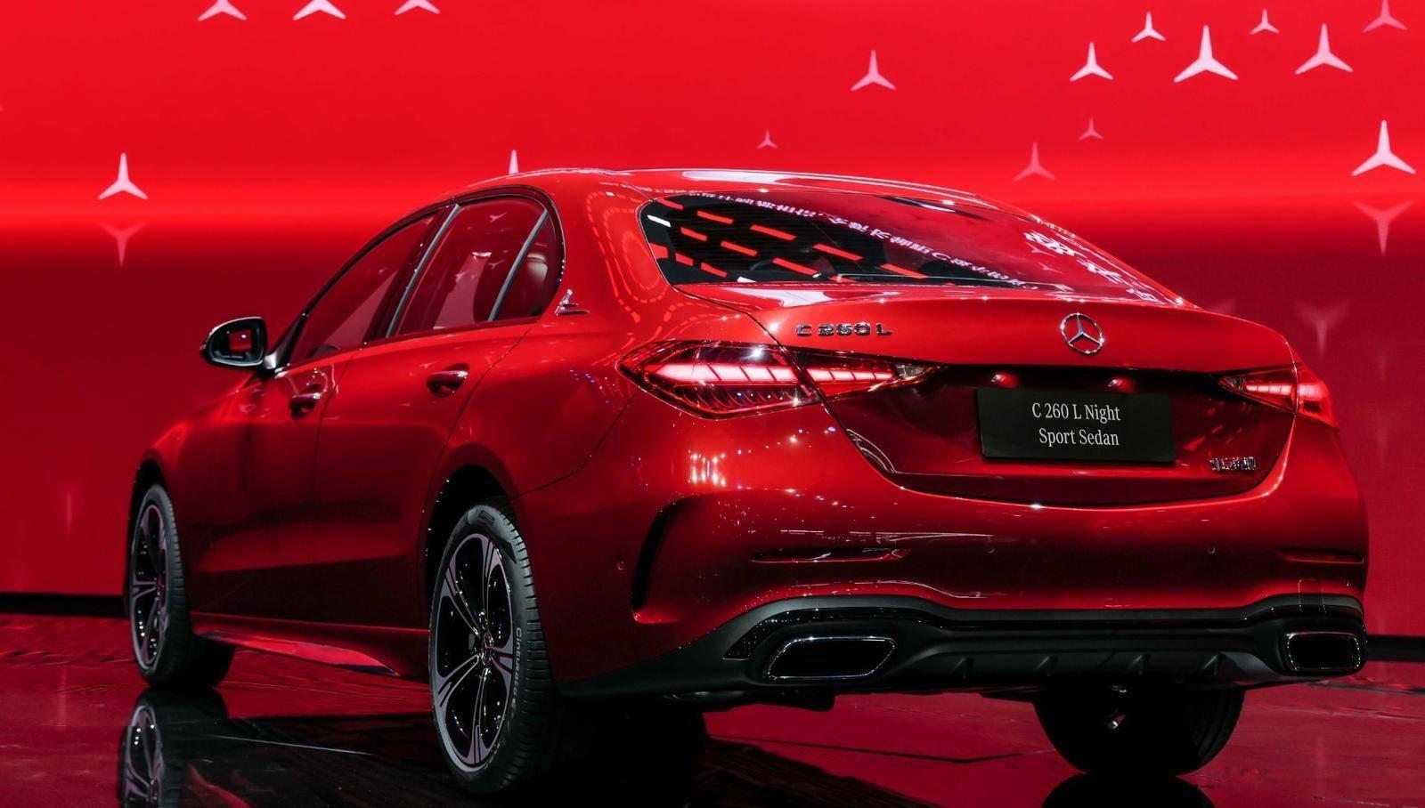 全新国产奔驰C级有望8月上市 提供3种动力可选、轴距加长