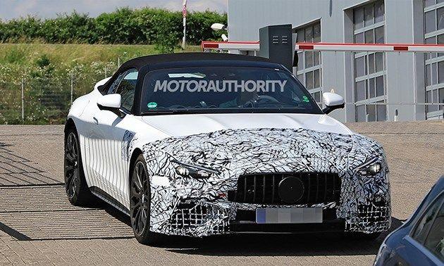 兼顾科技与性能属性 2022款梅赛德斯-AMG SL内饰官图发布
