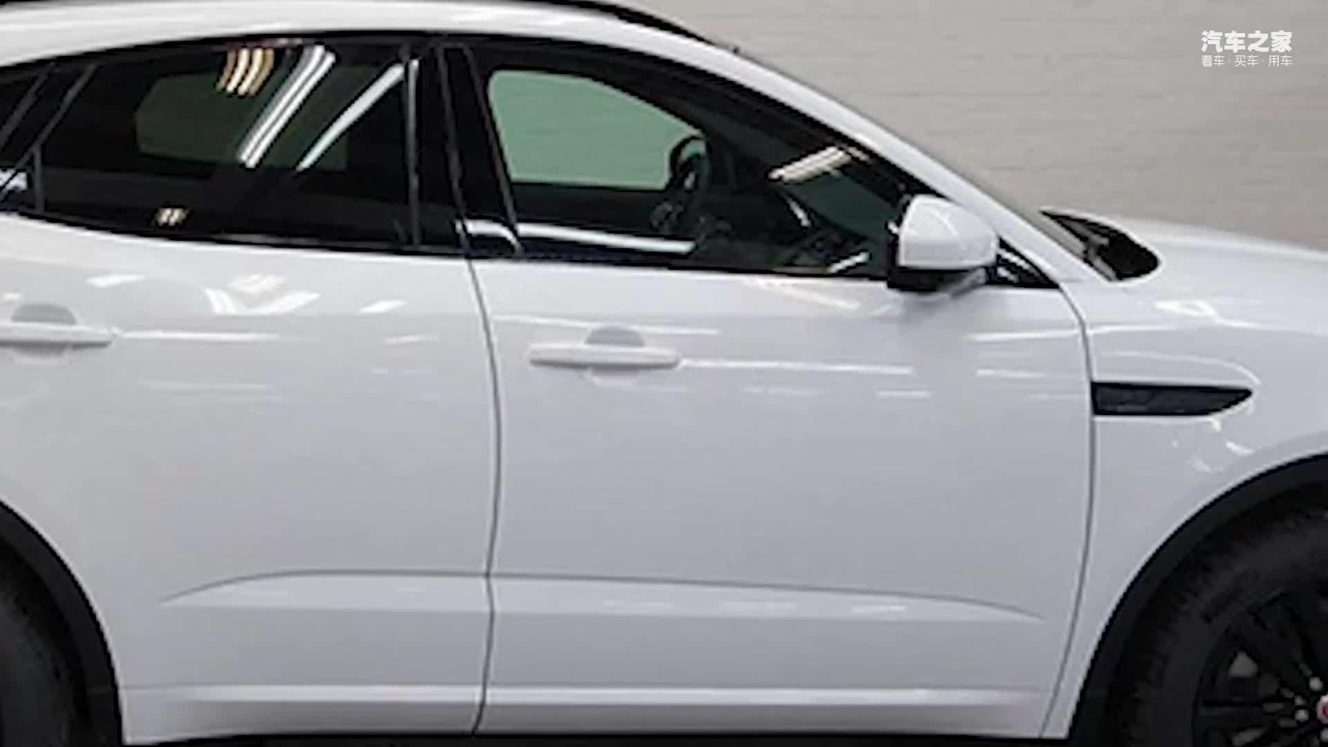 视频:捷豹全新SUV实拍曝光!搭2.0T引擎,叫板奥迪Q3