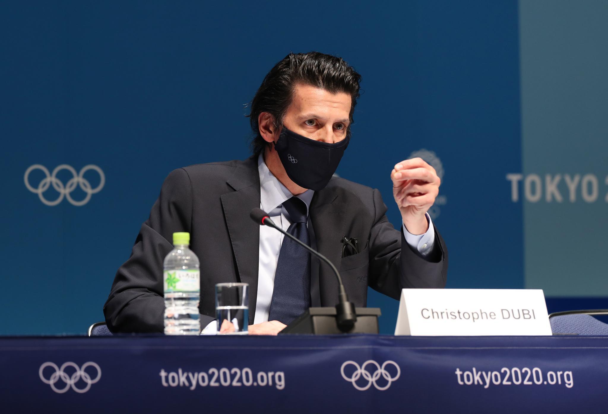 国际奥委会执委会举行新闻发布会插图(1)