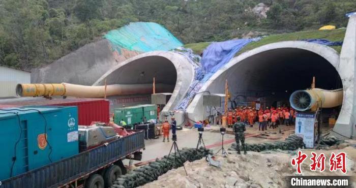 珠海石景山隧道透水事故:已派出专业潜水队伍搜救