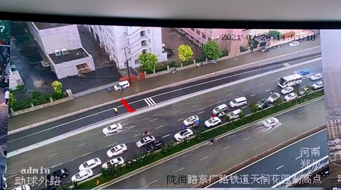 京广快速全线下穿隧道堵塞