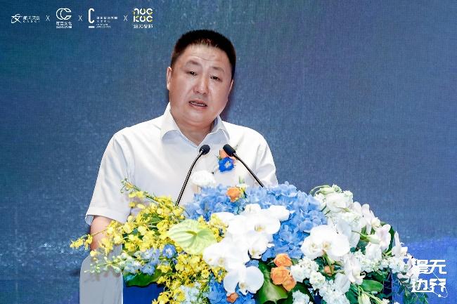 中国航天建设集团有限公司党委委员、副总经理宋友军致辞(图片由主办商提供)