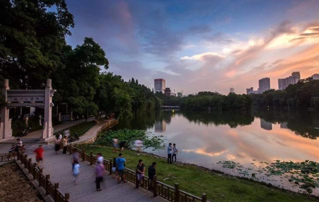 合肥新晋一座网红公园,风景丝毫不输苏州园林