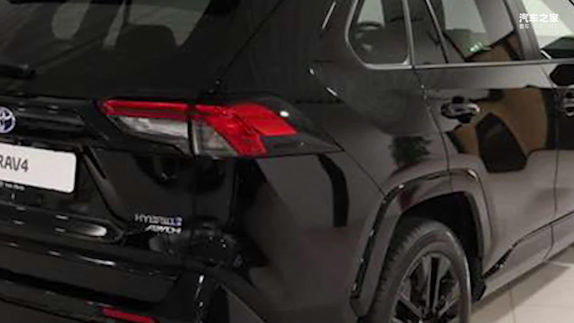 视频:丰田全新RAV4实拍!内饰大幅升级,尺寸超宝马X1