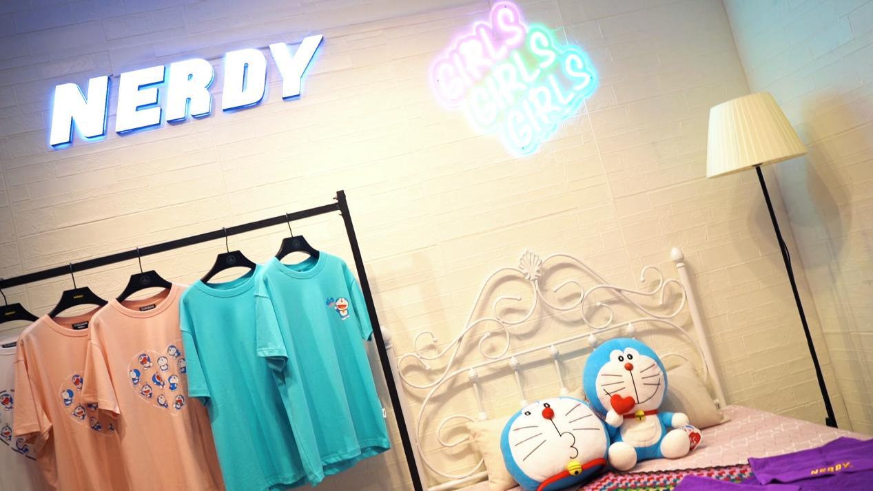 NERDY联合哆啦A梦,为年轻人带来夏日惊喜