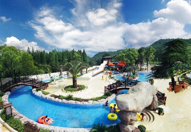 温泉度假区外环境景观设计原则 建科园林景观设