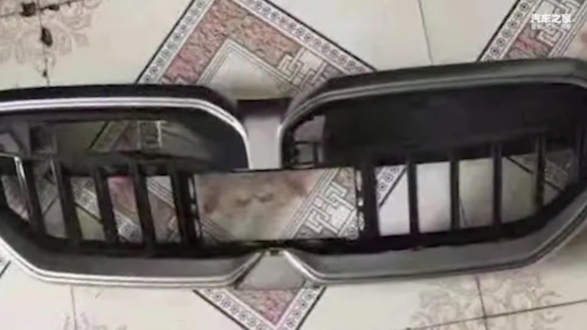 视频:宝马全新3系曝光!升级悬浮式双联屏前脸换新造型