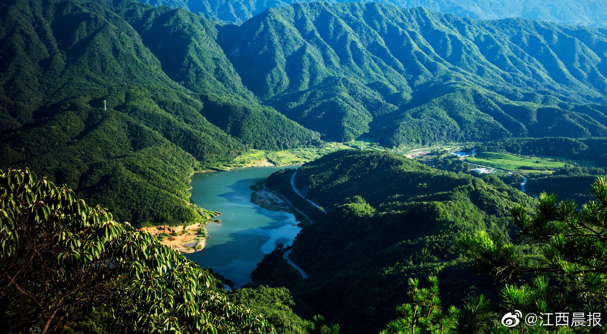 2021江西森林旅游节首次推出精品线路展,用手绘地图秀出我省生态资源