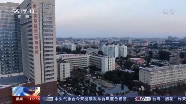 河南卫辉城区水位上涨,子弟兵紧急出动!图片