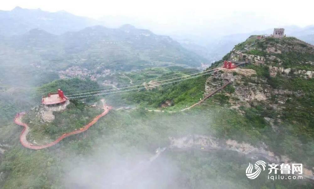 """受台风烟花""""影响 淄博红叶柿岩旅游区28至29日闭园"""