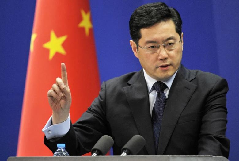新任中国驻美大使秦刚今天赴任?外交部回应图片