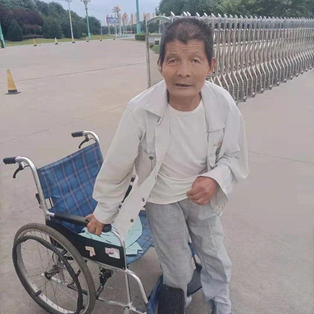 残疾老人求助你会如何做?眉县好心人步行10多里送其回家