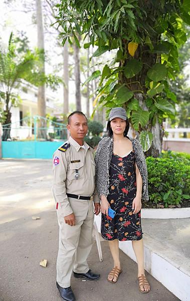在柬埔寨开诗会