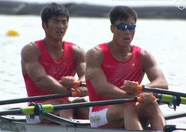 历史性突破,张亮/刘治宇摘下男子双人双桨铜牌