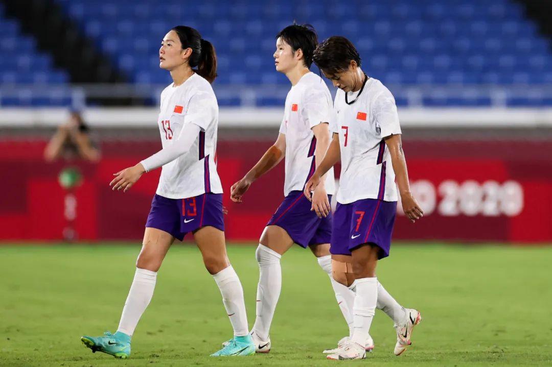 中国女足失踪退场。