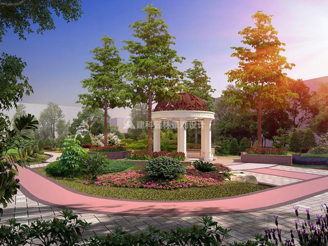 住宅区的园林绿化景观设计原则 建科园林景观设