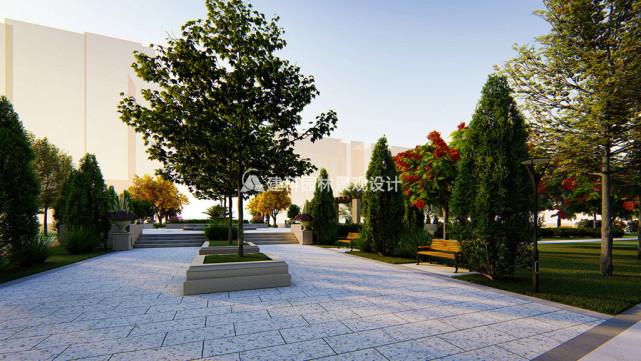居住小区园林设计的6点策略 建科园林景观设计