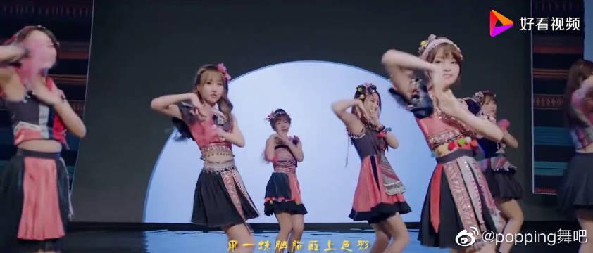SING女团《夜笙歌》MV,俏皮的舞蹈服,加上舞蹈很好看哦