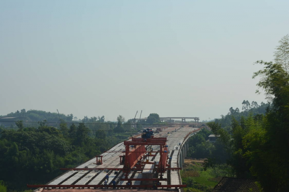 四川全省高速公路通车里程达8345公里
