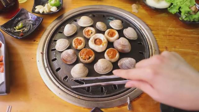烤口蘑yyds,给肉都不换 吃烤肉必点!必点!!