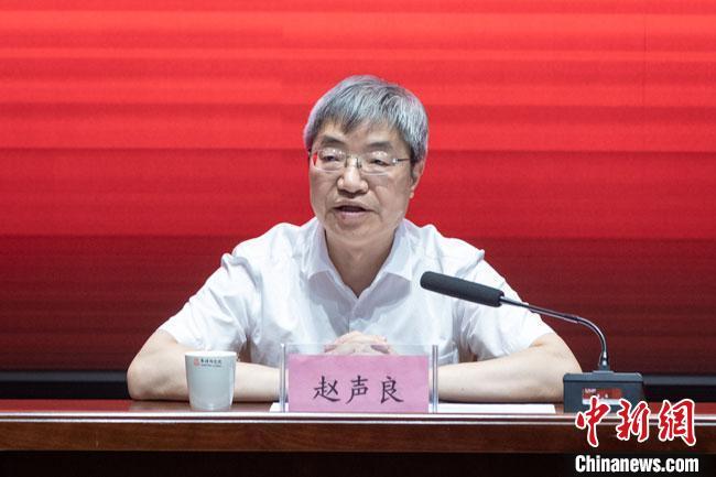 现任敦煌研究院院长赵声良任该院党委书记。 王嘉奇 摄