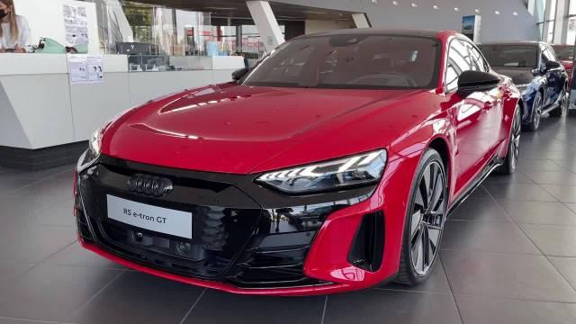 新奥迪 RS e-tron GT 2022 - 第一次看