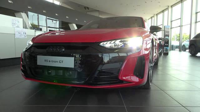 奥迪RS e-tron GT 2022 - 疯狂的MATRIX LED激光灯