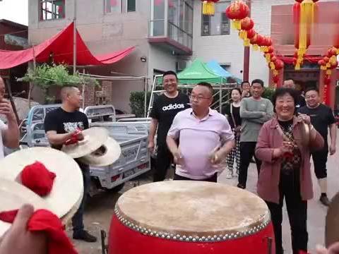 河北农村结婚吃喜宴,200人连吃10天不重样,大锅面片汤真香