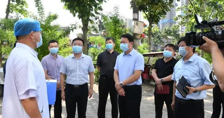 刘金仓督查指导疫情防控工作