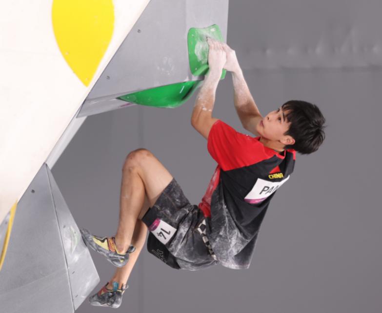 攀岩首次亮相奥运会,潘愚非出现重大失误无缘决赛
