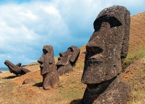 英语双语故事,写作练习,复活节岛的冒险之旅(三)