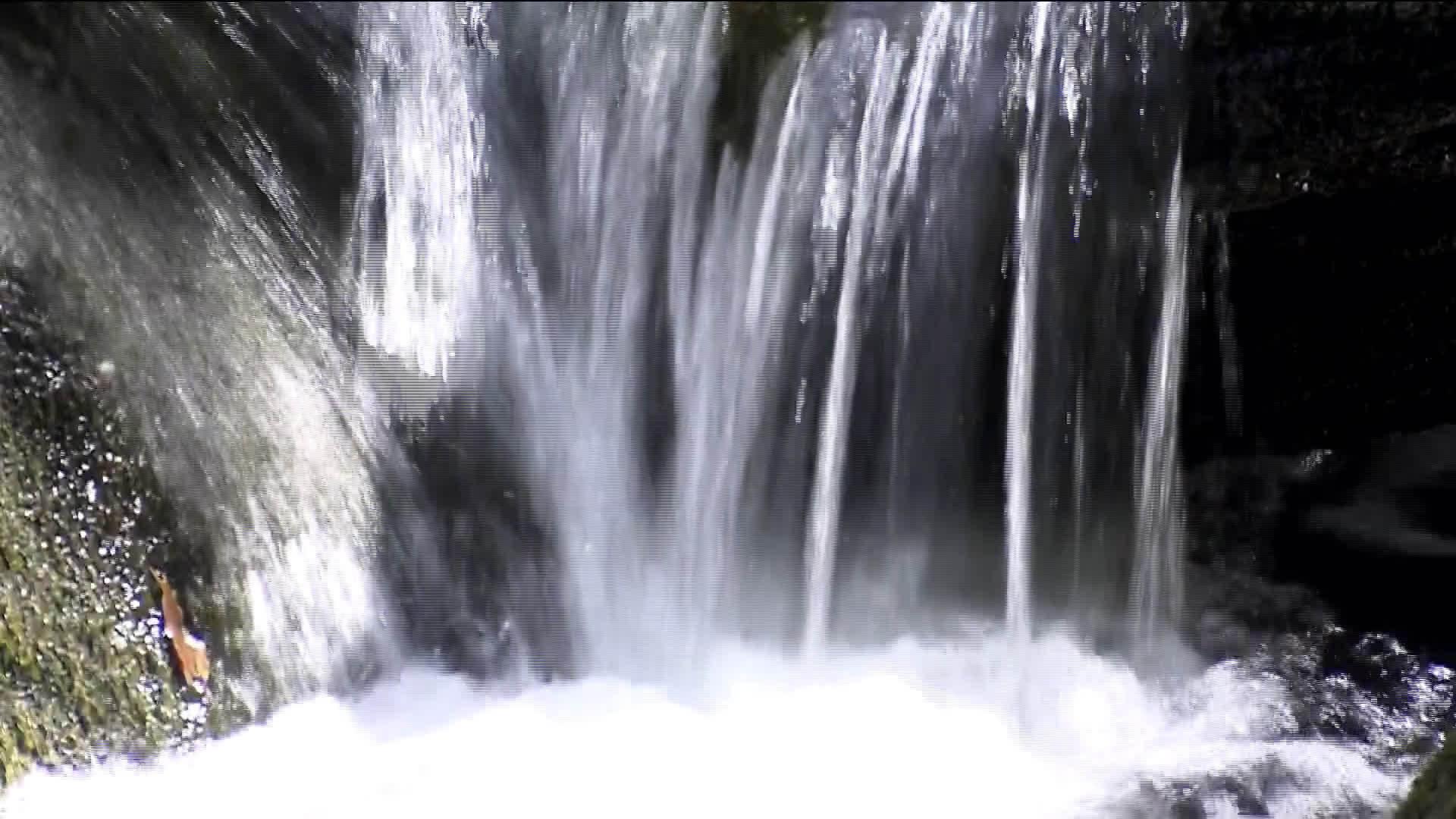 本溪夏日清凉  山间飞瀑流泉
