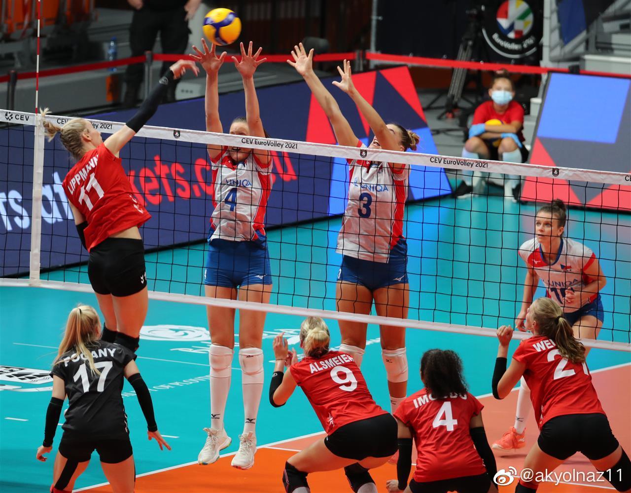 2021年女排欧锦赛B组,<a href=