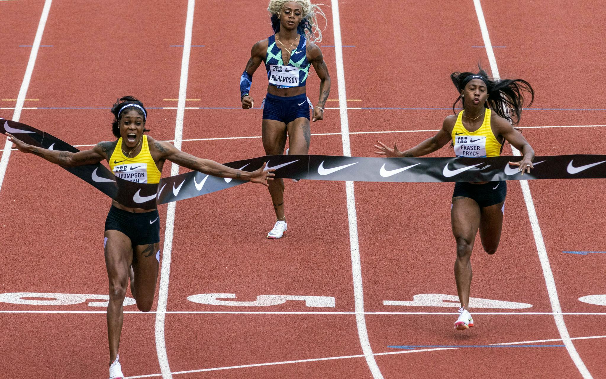 10秒54!女子百米再次诞生惊人成绩