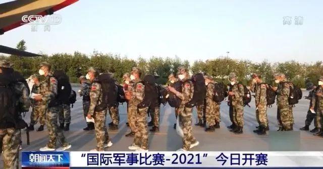 帅!中国人民解放军亮相!